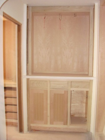 Pantry Cabinet: Floor To Ceiling Pantry Cabinet with StandardPaint ...