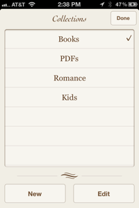 IBooks Collections